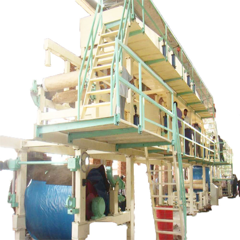 white top liner coating machine